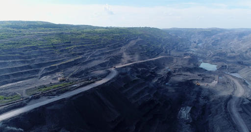 Coal cut, explosion Footage