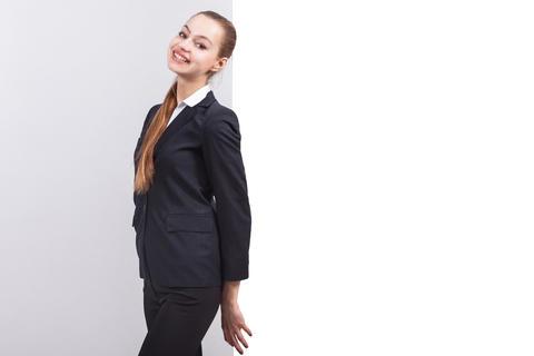 Picture of pretty business lady Fotografía
