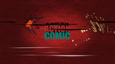Action Comic Slides ( After Effects Template ) Template After Effect