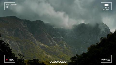 Camera Recording Screen Stock Video Footage