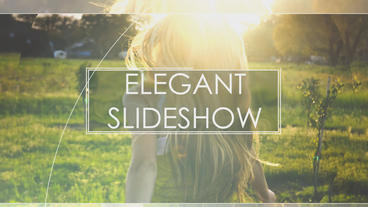 Elegant Slideshow After Effects Project