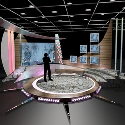TV Talkshow 011 3D Model