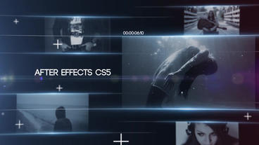 Dynamic Slideshow After Effects Template