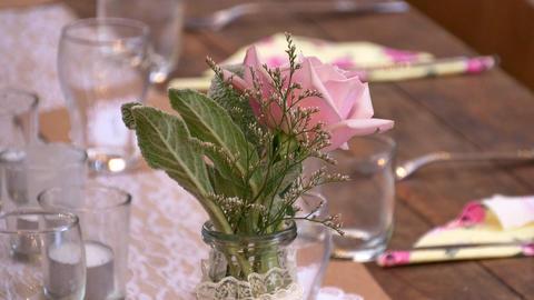 closeup shot of colourful wedding bouquet, Live Action