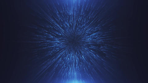 Abstract futuristic portal Animation