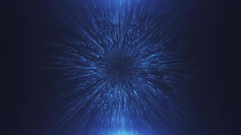 Abstract futuristic portal Animation
