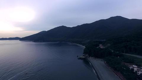 Mongdol Beach in Korea Footage