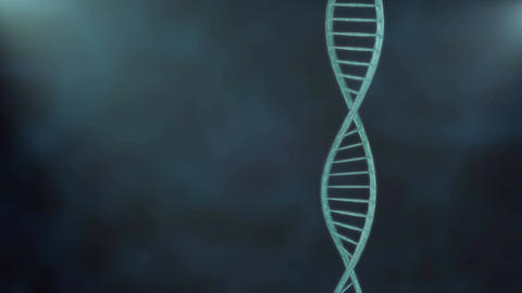 DNA helix in close up Stock Video Footage