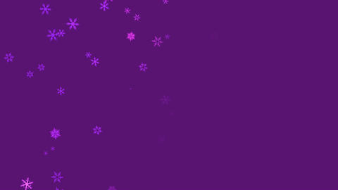 Snowflakes falling, Stock Animation