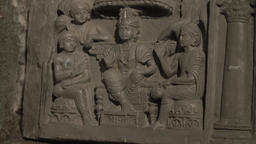 Ancient plaster bas-reliefs Footage