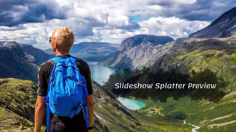 Splatter - Slideshow After Effects Template