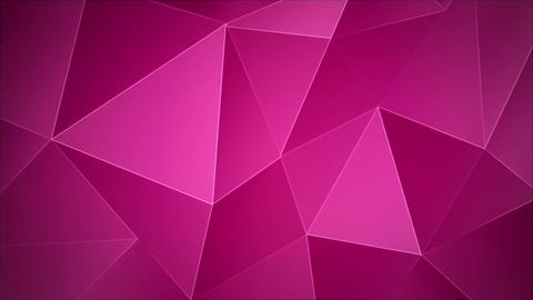 Abstract animated background triangular Archivo