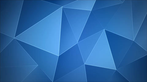 Abstract animated background triangular Live Action