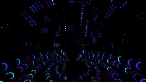 Neon Led Scene 4k 02 Vj Loop Animation