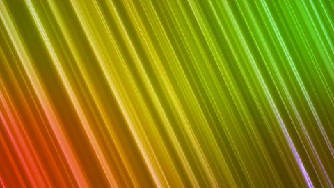 Broadcast Back Slant Hi-Tech Lines, Orange Green, Abstract, Loopable, 4K Animation