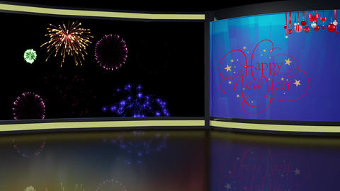 New Year 01 - Virtual Background Loop ライブ動画