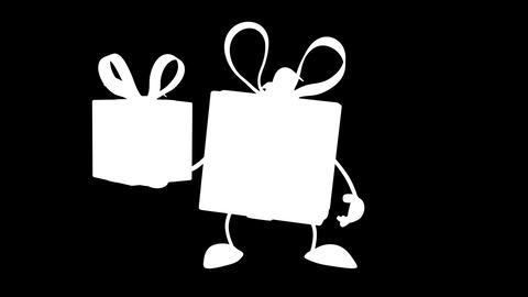 gift gift Stock Video Footage