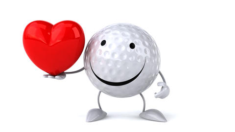 golf love Stock Video Footage