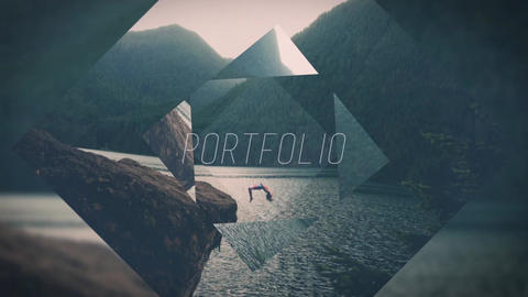 Abstract Slides After Effects Template