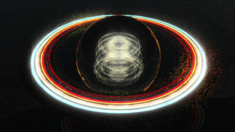 Spin Planet Loop GIF