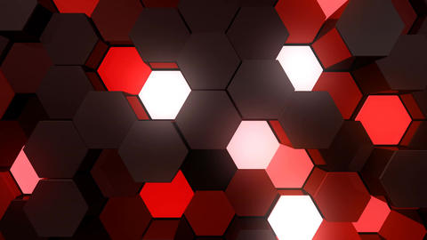 Geometric Wall-B 4 H ApMc 4k Animation