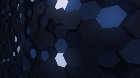 Geometric Wall-B 4 H CpMd 4k Animation