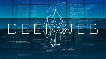 Deep Web. Unseen Side of the Internet After Effects Template