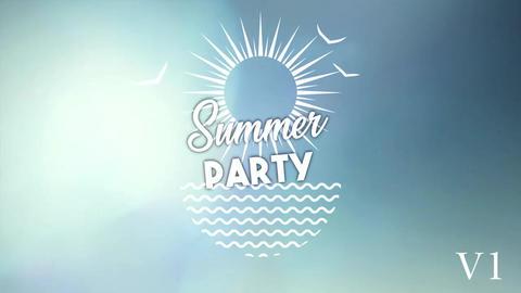 Summer Logos After Effects Template