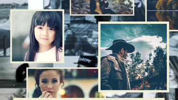 Inspiring Photo Gallery After Effects Template