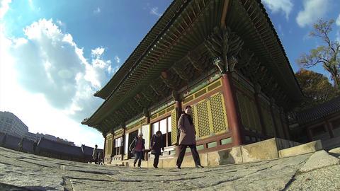 korea palace Footage