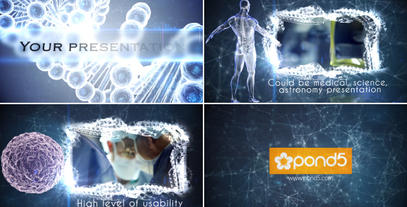 Medical Science Presentation stock footage