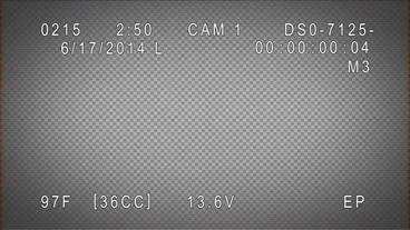 Security Camera Display After Effects Project