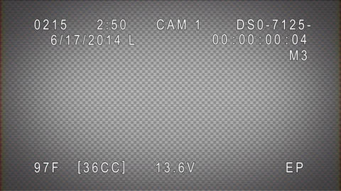 Security Camera Display After Effects Template