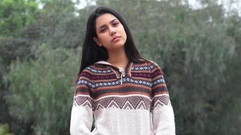 Pretty Latina Teen Hispanic Girl Live Action