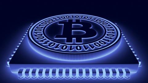 Processor and bitcoin04 Animation