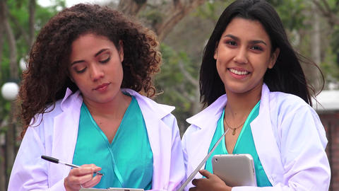 Hispanic Medical Students Live Action