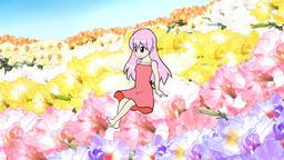 Cartoon fairy on set Animation