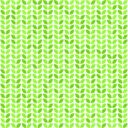 Seamless vector pattern with green leaves Vector