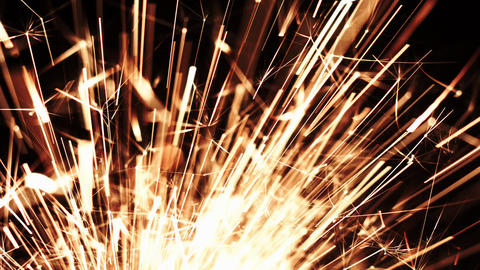 Christmas Sparkler. Sparks Bengal Fire Lights Image
