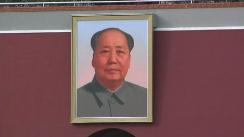 Portrait of Chairman Mao at the Tian'anmen Gate Live Action