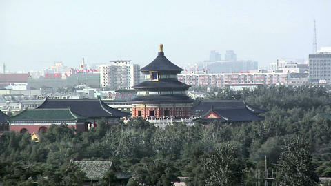 Elevated View of the Temple of Heaven Live Action