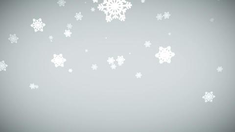 Elegant snowflake Animation
