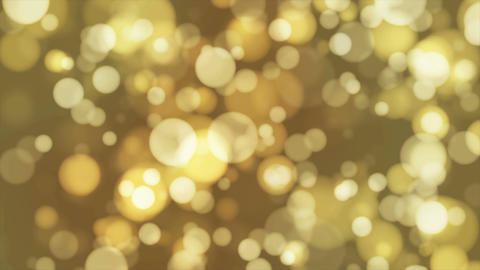Broadcast Light Bokeh, Brown Yellow, Events, Loopable, 4K Animation