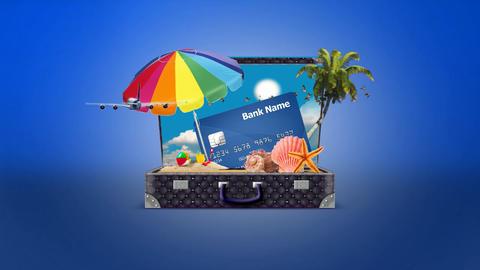 Summer Travel Logo After Effects Template