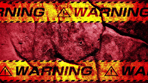 Warning tape Animación