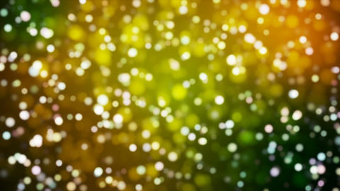 Broadcast Light Bokeh, Green Orange, Events, Loopable, 4K Animation