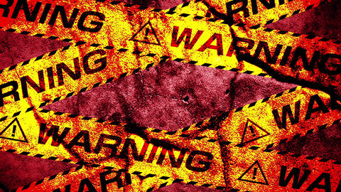 Warning tape Animation