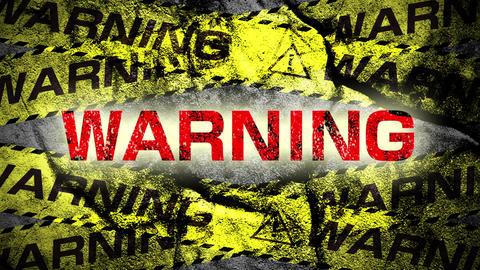 Warning tape WARNING Stock Video Footage