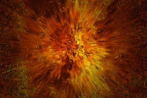 Big Bang - Explosion Photo