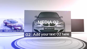 Media Presentation After Effects Template
